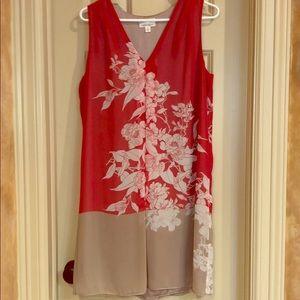 M.S.S.P v neck sleeveless dress